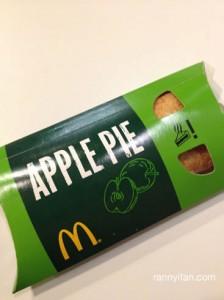 Apple Pie, sempet ada di Indo, sekarang udah ga ada..payah