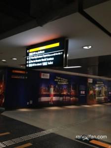 Keluar MRT, langsung numpang lewat Vivo City untuk ke Sentosa Express