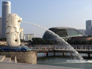 Patung Singa Muntah Air